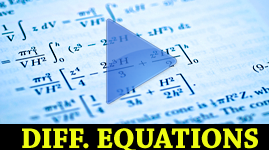 Differential Equations - an Introduction