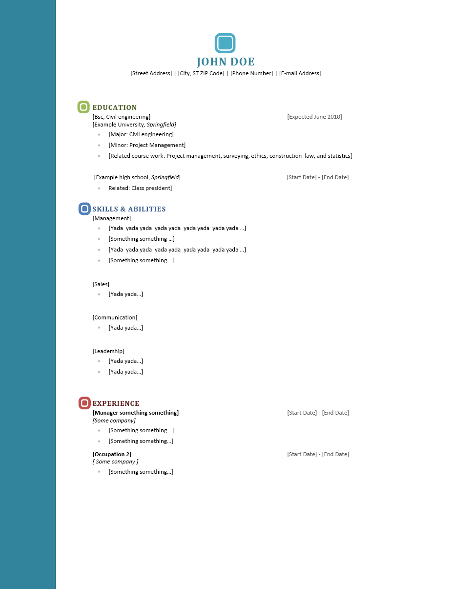 Resume References Templates Sample Resume References. Resume Reference ...