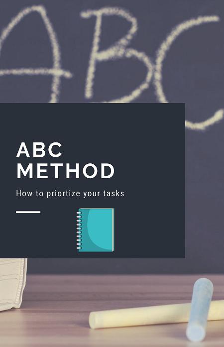 ABC Method – Better Task Management